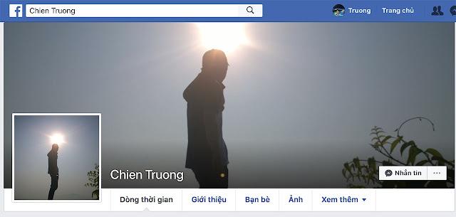 Facebook đã chặn nút kết bạn