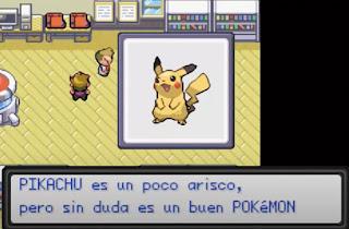 Pokemon Kanto Adventures GBA Completo en Español Inicial Pikachu