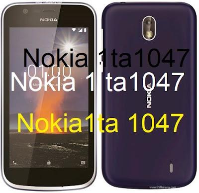 Nokia 1 Ta 1047 Firmware Flash File Download
