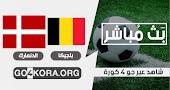 نتيجة مباراة بلجيكا  والدنمارك  اليوم 18-11-2020 في  دوري الأمم الأوروبية