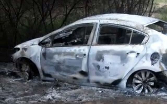 Carro é encontrado incendiado no município de Serrolândia