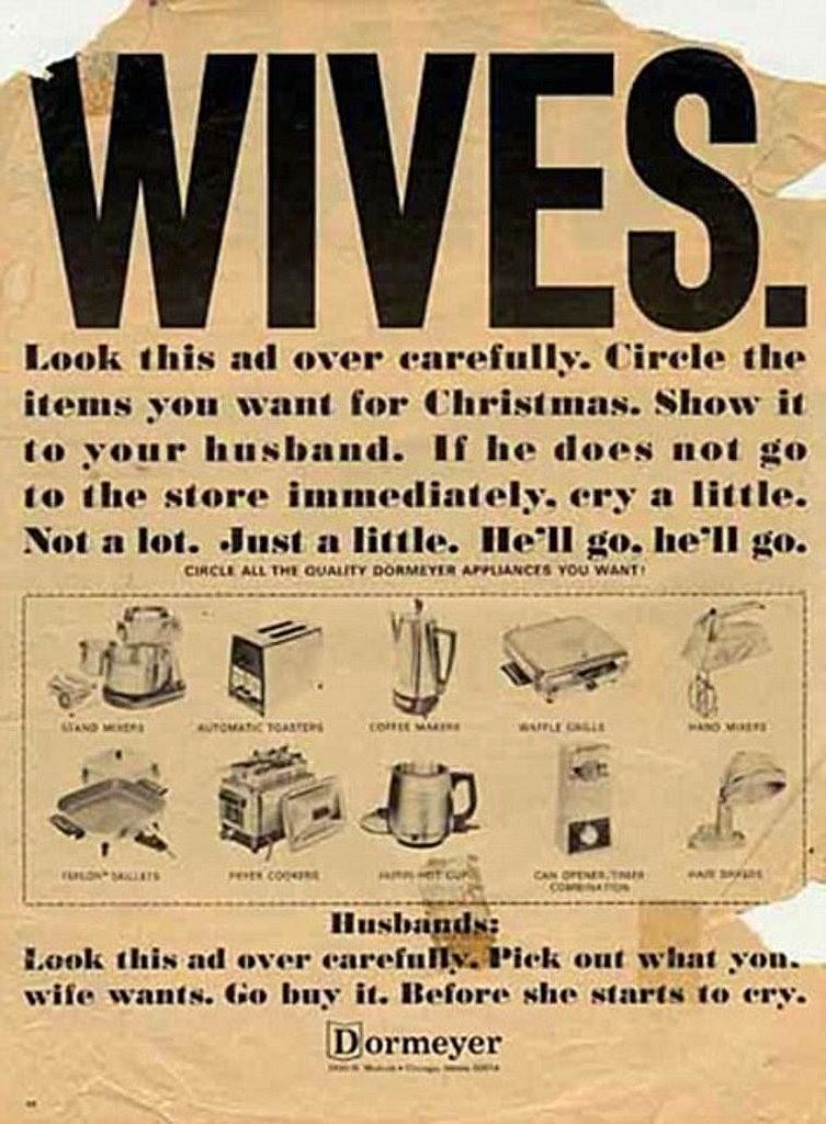 20 bad vintage christmas ads vintage everyday. Black Bedroom Furniture Sets. Home Design Ideas