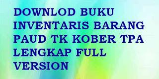 Contoh Buku Inventaris Barang PAUD/ TK/ RA/ KB/ TPA