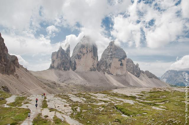 Tres Cimas de Lavaredo Italia Dolomitas turismo viaje paisajes