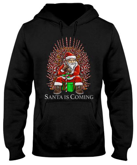 Santa Is Coming Candy Christmas Santa Is Coming Hoodie, Santa Is Coming Candy Christmas Santa Is Coming Sweatshirt