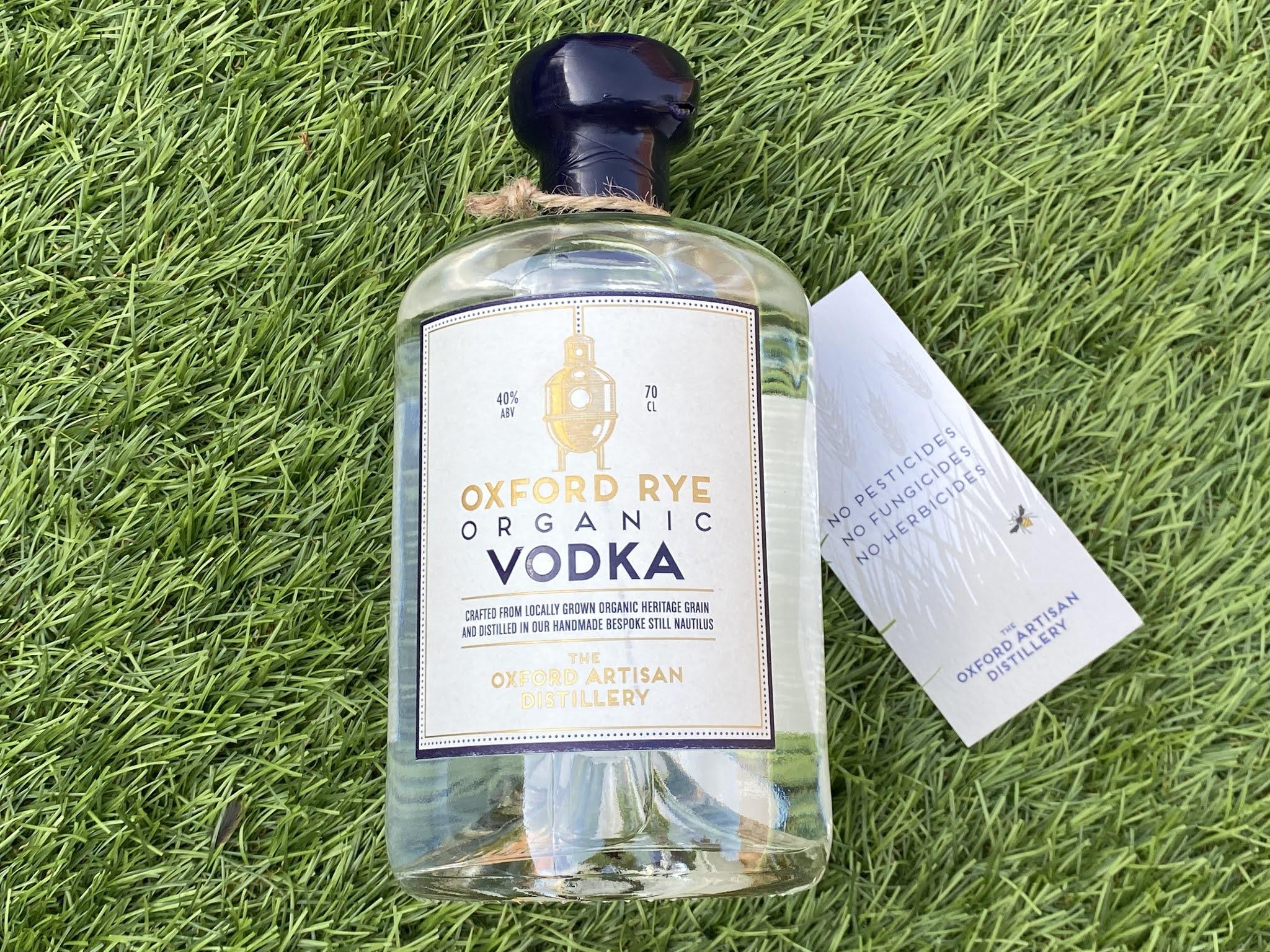 oxford rye organic vodka