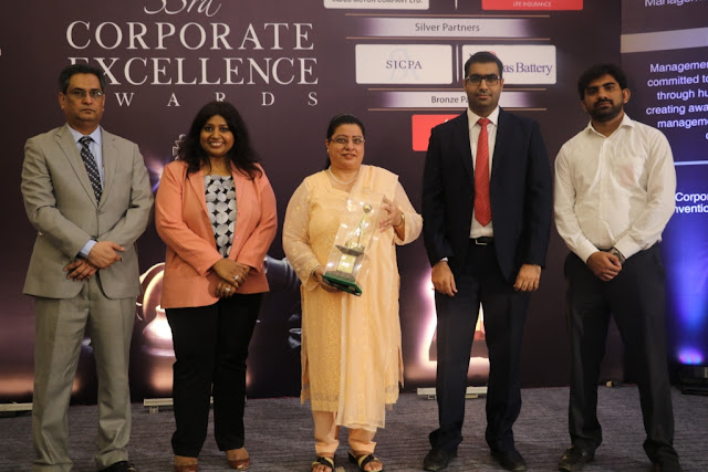Jubilee Life Insurance (JLI) recently won 'Corporate Excellence Award' for 'Life Insurance' under 'Financial Category'