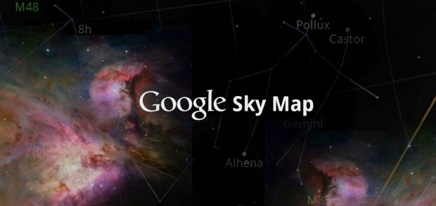 Google Sky Map gratis para android