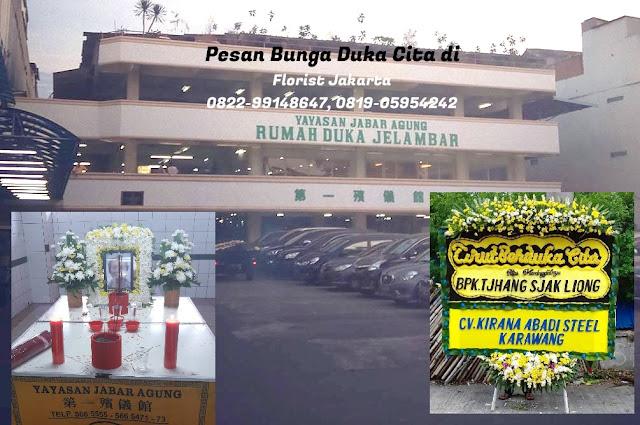 Toko Bunga Jelambar Dekat Rumah Duka Yayasan Jabar Agung
