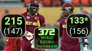 West Indies vs Zimbabwe ICC Cricket World Cup 2015 Highlights