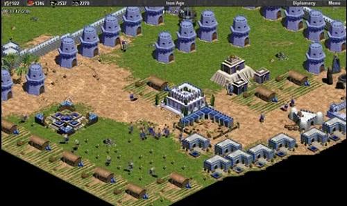 Babylonian có các công trình phòng vệ vô cùng kiên cố