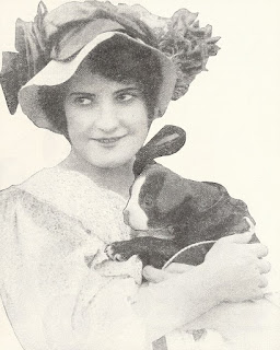 Edna Maison With Her Dog