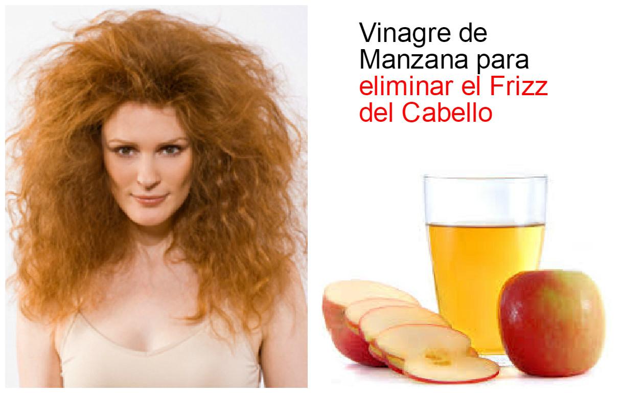 solo Oblicuo hoja  Tratamiento con vinagre de manzana para eliminar el frizz ~ Manoslindas.com