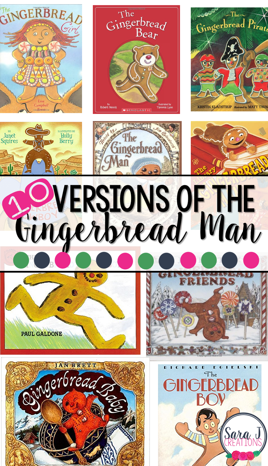 Our 10 favorite versions of the Gingerbread Man story
