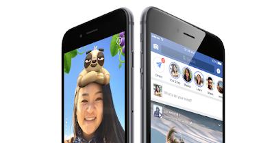 Facebook agregado en el historial de mensajes de voz, una nube para almacenar fotos y un archivo