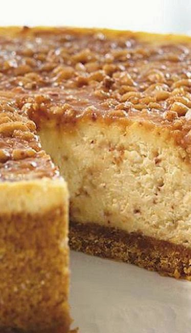 English Toffee Cheesecake – Tasty Apron