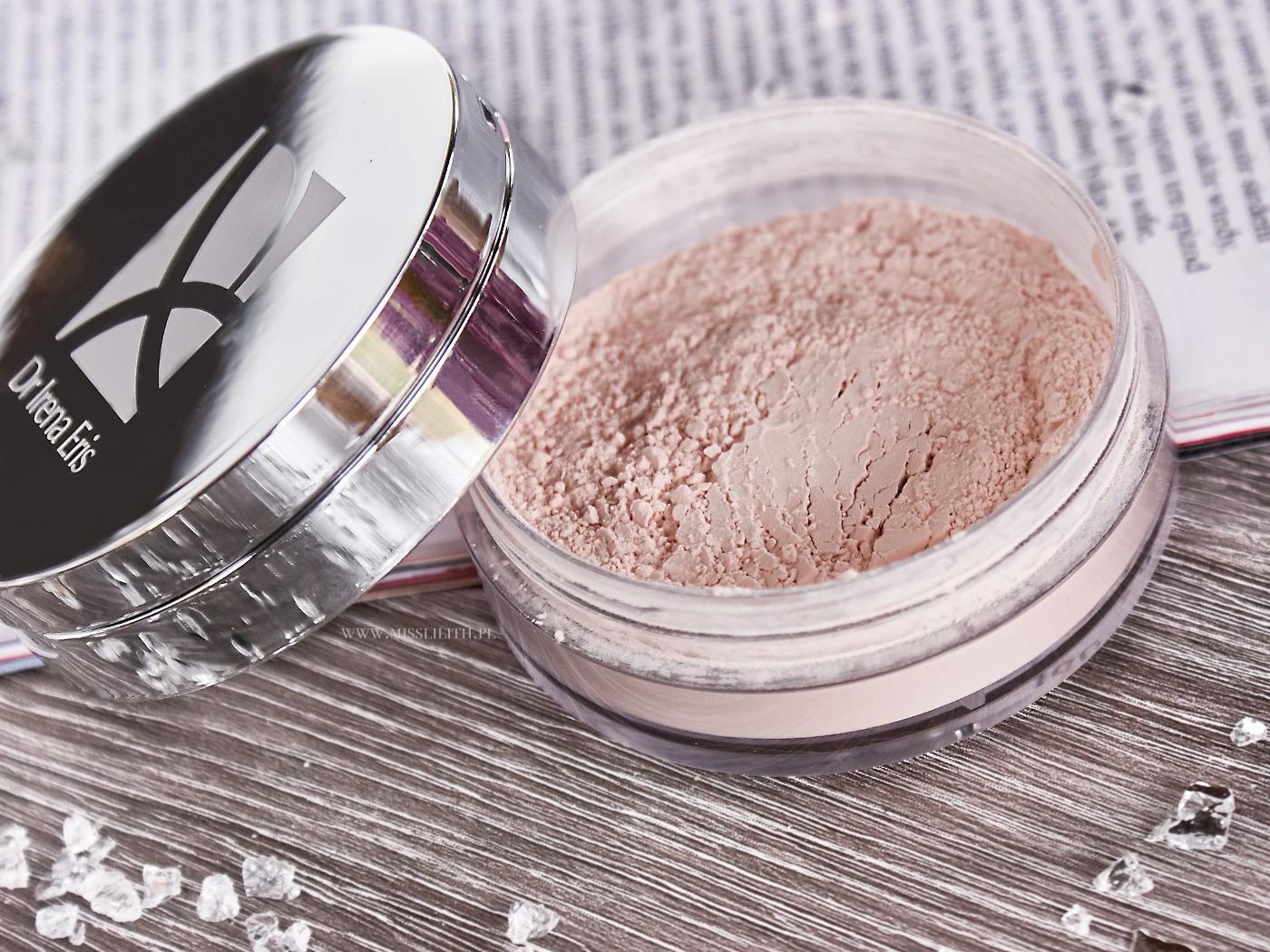 Dr Irena Eris Provoke Loose Powder Transparentny puder sypki blog opinie