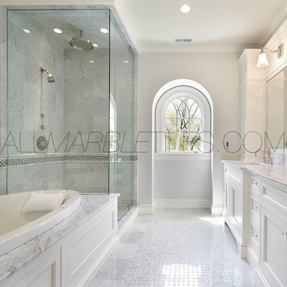 Since We Are Considering Carrara Marble Floor Tile You Can Think Beforehand Which