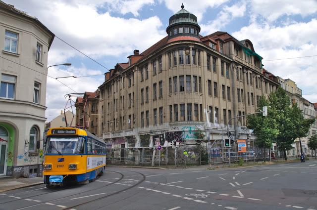 Kaufhaus Karstadt (geschlossen seit ca. 1996) Leipzig, Merseburger Straße, Hypezig