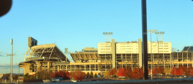 Beaver Stadium in State College Pennsylvania