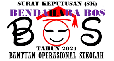 Contoh Riil SK Bendahara BOS SD/SMP/SMA/MA 2021