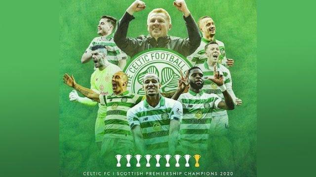 Celtics Juara Liga Skotlandia 2019/2020