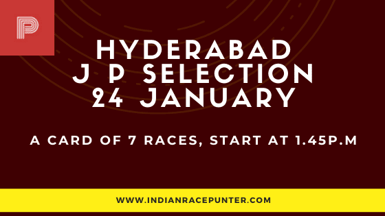 Hyderabad Jackpot Selections 24 January