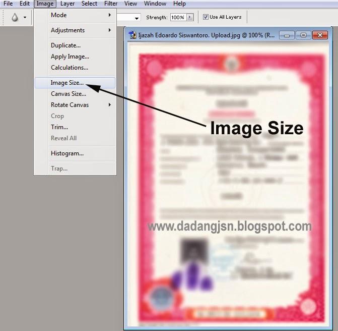 Cara Merubah Ukuran File Pdf Gambar Photo Scan Untuk Diupload Diunggah Di Padamu Negeri Maupun Verval Pd Salam Edukasi