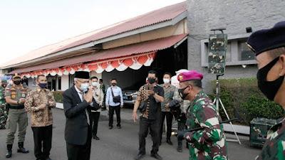 Wagub Sumsel menghadiri Pisah Sambut Danlanal Palembang