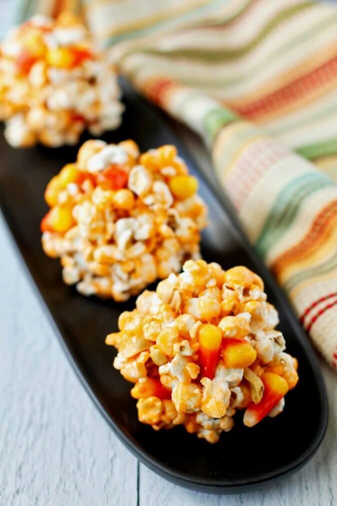 Halloween Treat Popcorn Balls