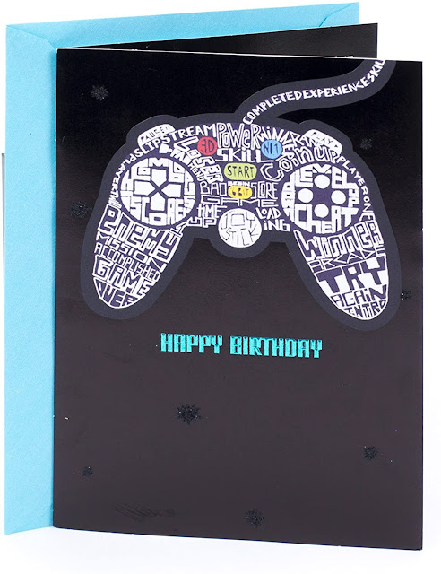 Gaming Birthday Card