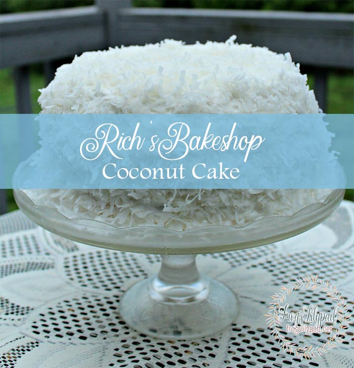 Rich's Bakeshop Coconut Cake