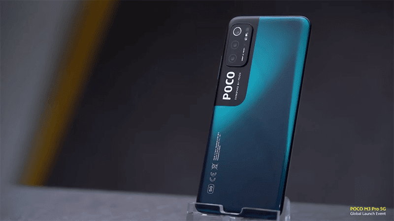 POCO M3 Pro in Cool Blue