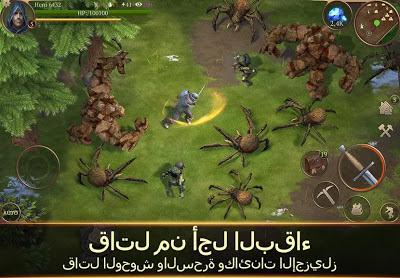تحميل لعبة Stormfall: Saga of Survival مهكرة للاندرويد