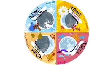 Fases da lua e estação do ano