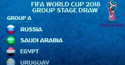 مجموعة مصر فى كأس العالم 2018
