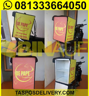 Produsen Tas delivery pizza Depape Jakarta bandung bogor tangerang bekasi jogja solo semarang malang surabaya bali banjarmasin batam
