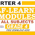 4th Quarter Self-Learning Modules Grade 4 All Subjects