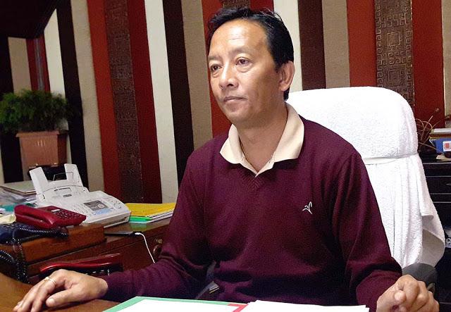 Binay Tamang Gorkhaland Territorial Administration BOA chief