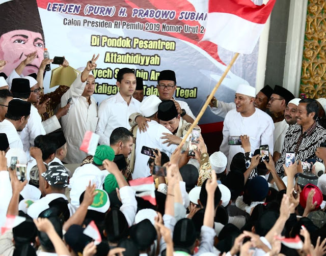 Tokoh NU Tegal ini Yakin Prabowo Mampu Kembalikan Kedaulatan Bangsa