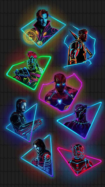 Avengers-Neon-HD-Wallpaper