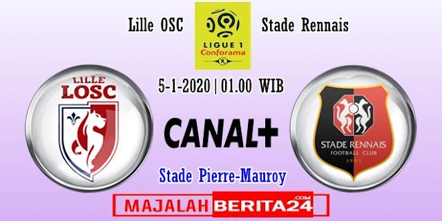 Prediksi Lille vs Rennes — 5 Februari 2020
