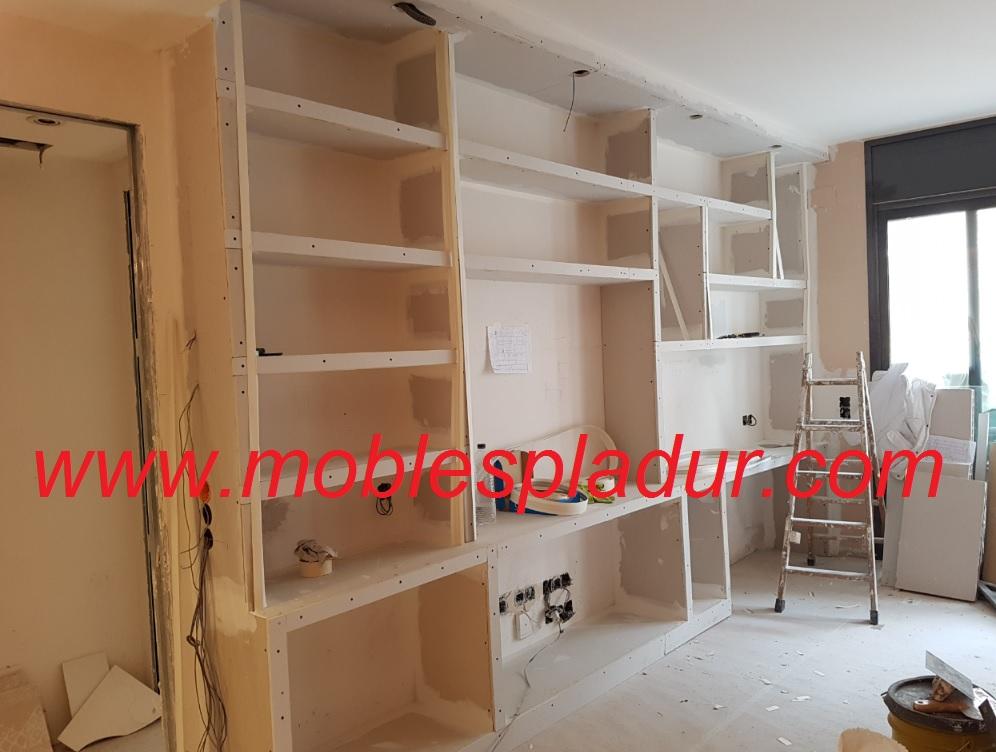 Pladur barcelona mueble sal n - Estanterias pladur ...