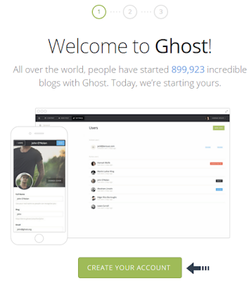 welcome to ghost