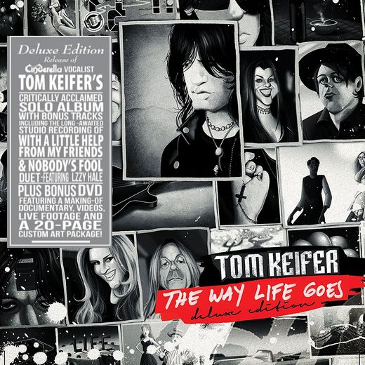 TOM KEIFER (Cinderella) - The Way Life Goes [Deluxe Edition] (2017) full