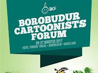 Pameran dan temu kartunis nasional di Borobudur