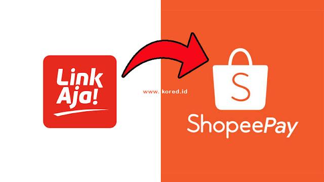Cara Top Up Saldo Shopeepay Lewat LinkAja Terbaru