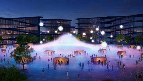 Pembangunan kota baru akan dimulai pada 2021. Kredit: Toyota / Bjarke Ingels Group
