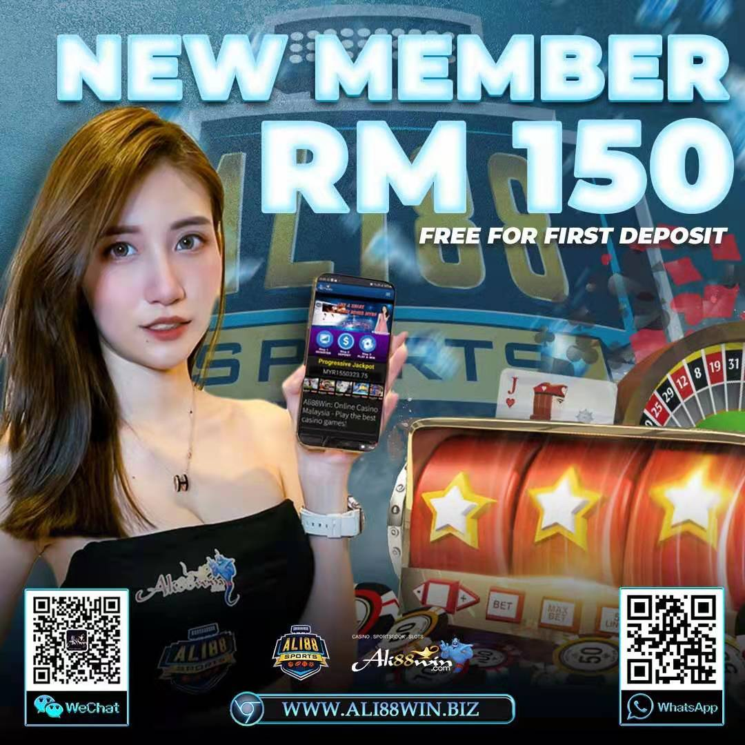 Welcome Bonus RM150 to all new members