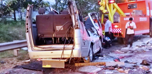 Innalillahi! Terjadi Lagi Kecelakaan Maut di Tol Cipali, 10 Orang Meninggal Dunia